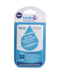 TMB Water Purification Tablets