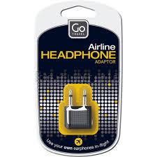 Go Travel Airline Headphone Adaptor